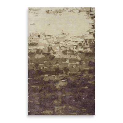 Highland 2-Foot x 3-Foot Rug in Beige/Plum