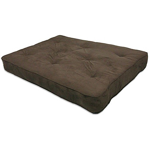 inch thick premium futon mattress in brown from bed bath beyond