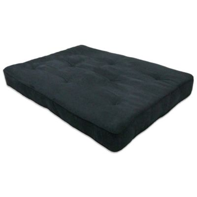 DHP 8-Inch Thick Premium Futon Mattress in Black