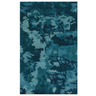 Highland 5-Foot x 8-Foot Rug in Blue