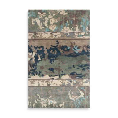 Highland 2-Foot x 3-Foot Rug in Blue