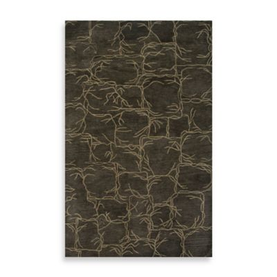 Highland 2-Foot x 3-Foot Rug in Beige/Blue