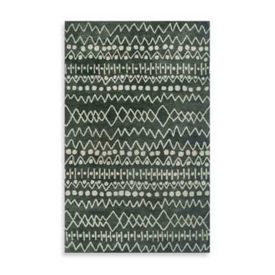 Highland 2-Foot x 3-Foot Rug in Charcoal