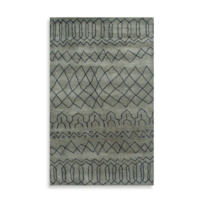 Highland 5-Foot x 8-Foot Rug in Grey