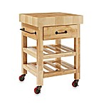 Crosley Marston Butcher Block Kitchen Cart