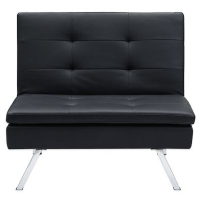 Buy Black Faux Leather Chairs From Bed Bath Amp Beyond