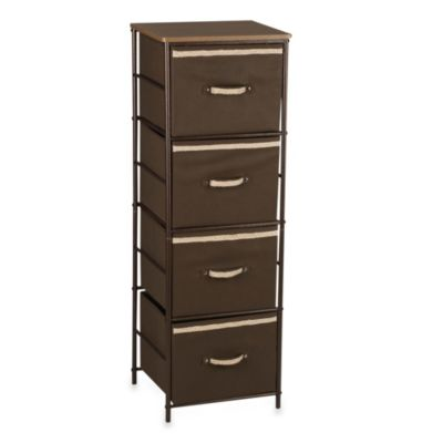 Household Essentials® 4-Shelf Storage Tower