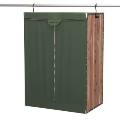 Extra Wide Cedar Stow Hanging Storage Unit