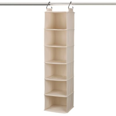 Cedarline Hanging Canvas 6-Shelf Organizer