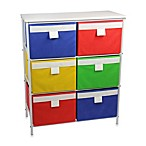 Household Essentials® 3-Shelf White Storage Stand