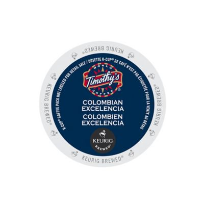K-Cup® 18-Count Timothy's® Colombian Excelencia™ Coffee for Keurig® Brewers