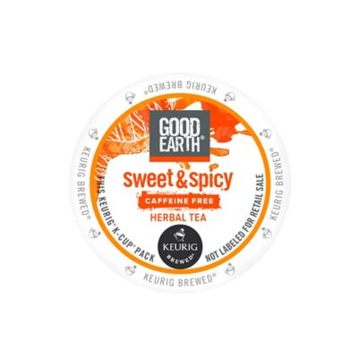 K-Cup® 18-Count Good Earth Sweet & Spicy Decaf Herbal & Black Tea for Keurig® Brewers