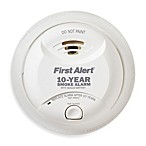 First Alert® Lithium Battery 10-Year Sealed Smoke Alarm