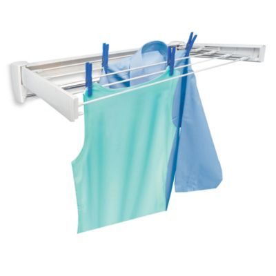 Wall Mounted Drying Rack for Laundry