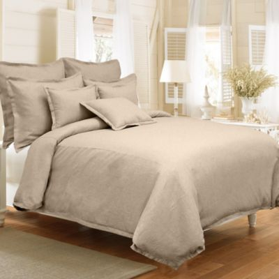 Linen Reversible Duvet Cover Set in Linen
