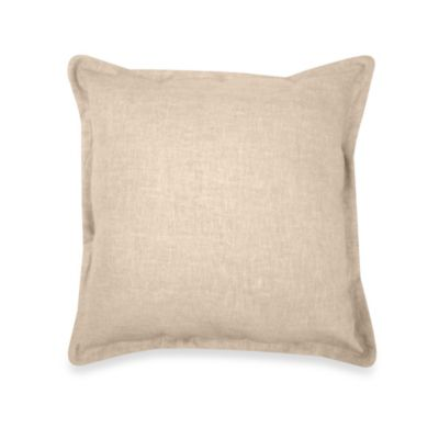 Gotham Square Toss Pillow in 100% Linen