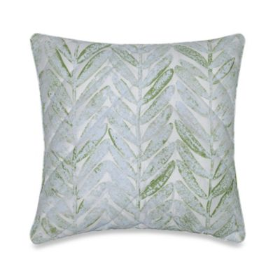 Barbara Barry® Sea Leaves Square Toss Pillow