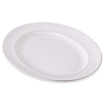 Vera Wang Wedgwood® Blanc Sur Blanc 15.25-Inch Oval Platter