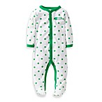 Carter's® Green Shamrock 1-Piece Footie