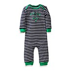 Carter's® Kiss Me, I'm Irish 1-Piece Coverall in Navy Stripe