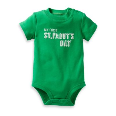 Carter's® My First St. Paddy's Day Bodysuit