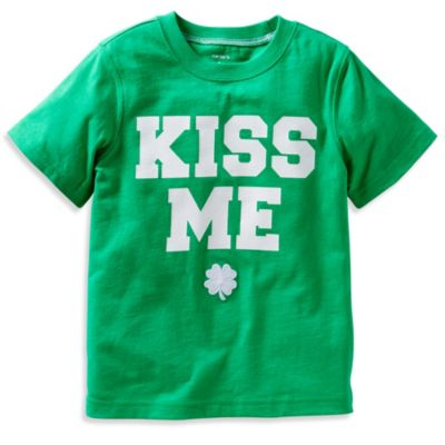 Carter's® Kiss Me T-Shirt in Green