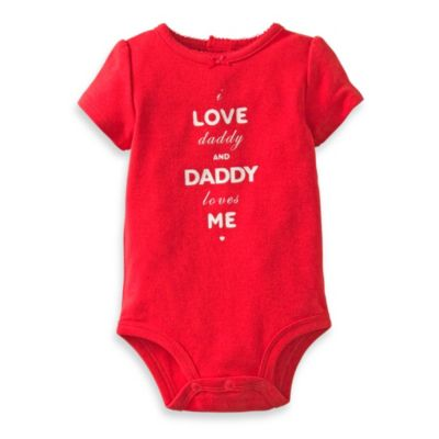 Carter's® I Love Daddy Bodysuit