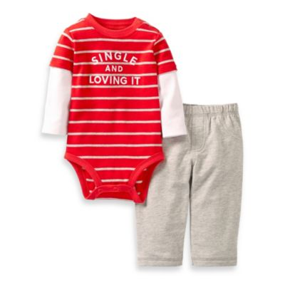 Carter's® Single and Loving It 2-Piece Pant Set