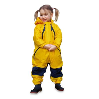 Tuffo Muddy Buddy Size 4T Rain Suit in Yellow
