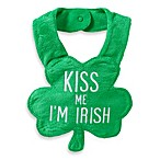 Carter's® Kiss Me, I'm Irish Bib