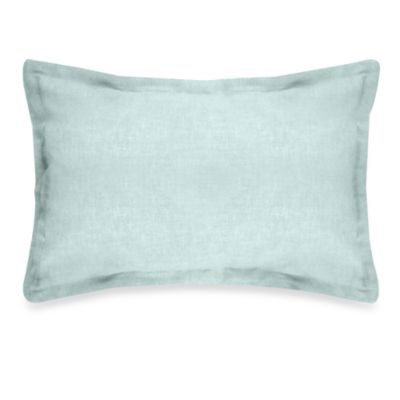 Veratex Gotham Boudoir 100% Linen Throw Pillow in Mineral