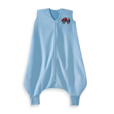 HALO® SleepSack® Size 2-3T Micro-Fleece Big Kids Wearable Blanket in Blue Truck