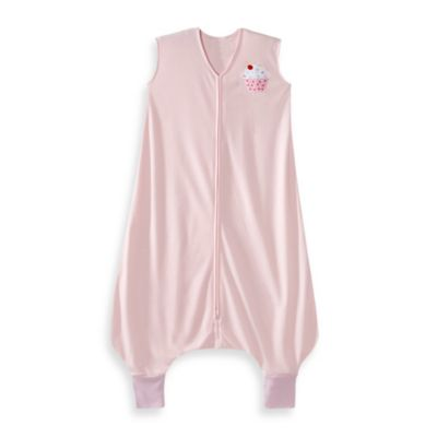 HALO® SleepSack® Size 4-5T Lightweight Knit Big Kids Wearable Blanket in Pink Cupcake