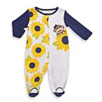 Baby Starters® Sock Monkey Sunflower Sleep 'n Play