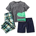 Carter's® Alligator 3-Piece PJs in Grey/Navy