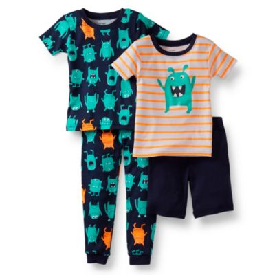 Carter's® Green Alien 4-Piece Pajama Set