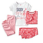 Carter's® Daddy Says I'm Perfect 4-Piece Pajama Set