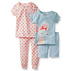 Carter's® Blue Mouse 4-Piece Pajama Set