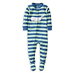 Carter's® Whale PJs in Mint Green/Blue Stripe