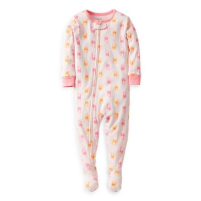 Carter's® Multi-Print Kitty Snug Fit 1-Piece Footie PJ