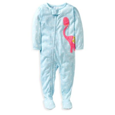 Carter's® Blue Elephant 1-Piece Footie