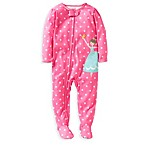 Carter's® Ballerina 1-Piece PJ in Pink