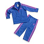 Adidas® Fashion Tricot Track Suit Set in Dazzling Blue