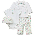 Little Me® Garden Joy 4-Piece Take Me Home Layette Sets