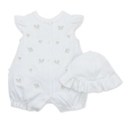 Little Me® Joyful Romper with Hat