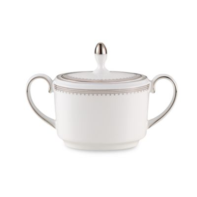 Vera Wang Wedgwood® Grosgrain Sugar Bowl