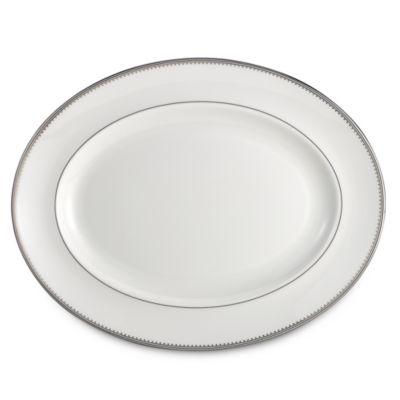 Vera Wang Wedgwood® Grosgrain 13.75-Inch Oval Platter