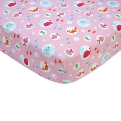 Carter's® Under the Sea Fitted Crib Sheet