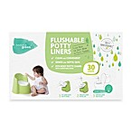 ToddleGreen™ Flushable Potty Liners