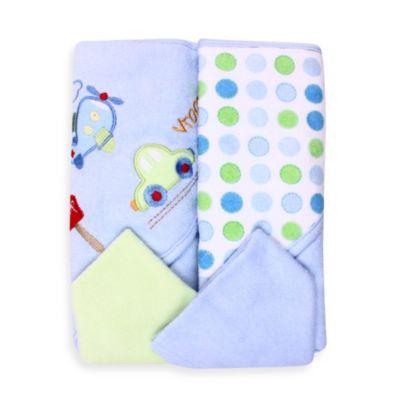 2-Pack Hooded Towel Set